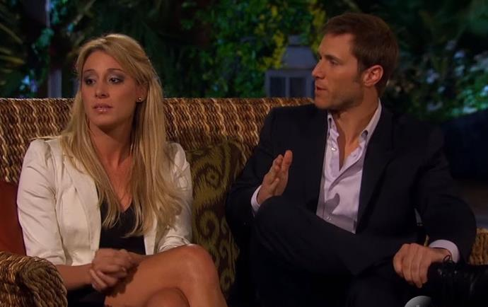 Season 14 Bachelor Jake Pavelka and his winning bachelorette Vienna Girardi had one of the show's messiest breakups ever - after going down on one knee during the finale of his season, the two split just months later during a televised special hosted by Chris Harrison.
