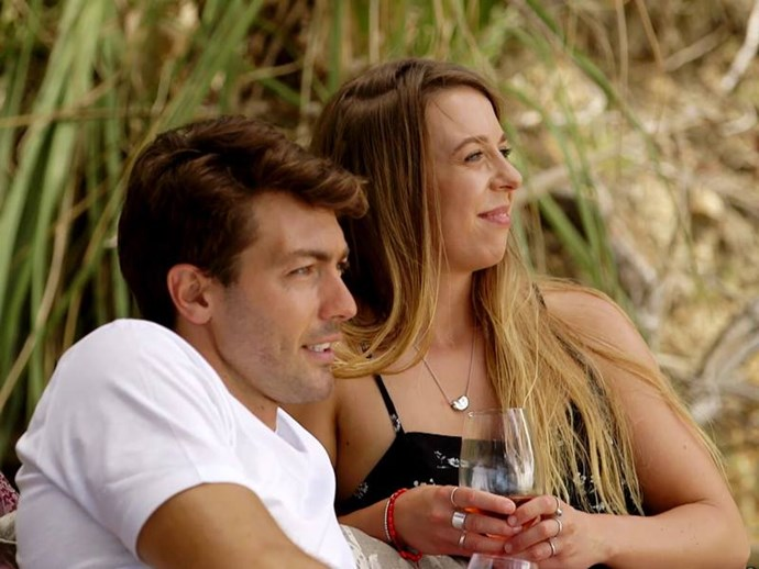 On season one of *The Bachelor* NZ, contestant Poppy Salter's little slip-up during a one-on-one date with Bachelor Arthur Green gave the pair a good laugh!