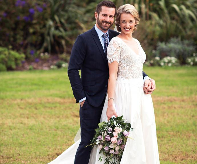 On the morning of their wedding, heavy rain in the Coromandel means that up until 30 minutes before the nuptials, Janika, 29, and Ross, 34, aren't sure where they are going to become husband and wife.