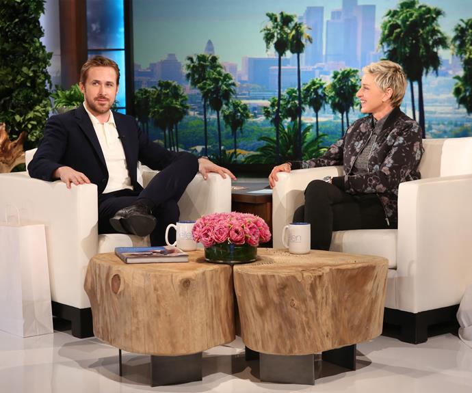 Ryan spoke candidly on the Ellen show, revealing his nickname for eldest daughter Esmeralda. Photo: Michael Rozman/Warner Bros.