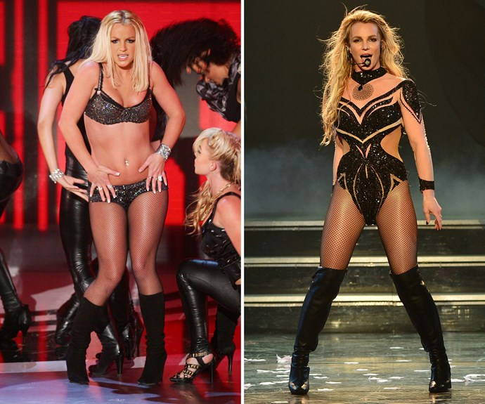 Britney Spears turned to a personal trainer to get in shape for her Vegas residency, which kicked off in December 2013. The singer put in the hard yards with 40-minute workouts 3-4 times a week, focusing on core training – and the results are jaw-dropping!