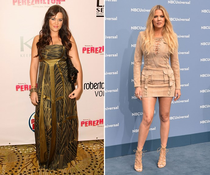 """Khloe Kardashian loves sharing the results of her frequent gym sessions with her Instagram followers and has lost [almost 18kg]( http://www.people.com/article/khloe-kardashian-weight-loss