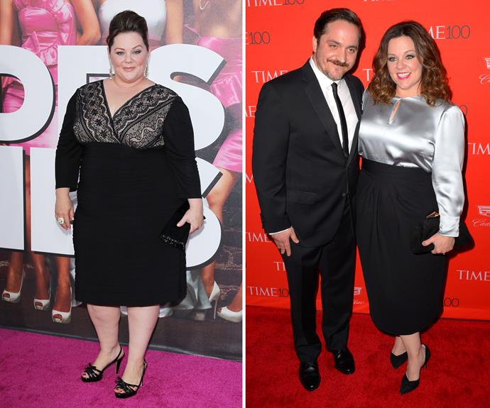 Melissa McCarthy has been steadily dropping the pounds during her time in the spotlight, showing off a noticeably slimmer figure at the Time 100 Gala this year.