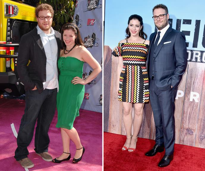 """Comedian Seth Rogen slimmed down with the help of celeb-fave trainer Harley Pasternak, who helped the funny man [lose around 13kg]( http://www.health.com/health/gallery/0,,20466776_17,00.html