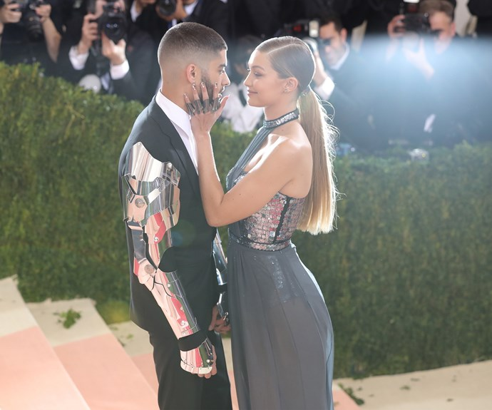 Zayn and Gigi were all loved-up at the Met Gala earlier this year. Photo: Getty