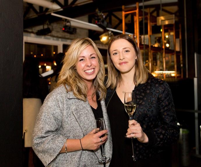 Brooke Chichester and Rachael Walker. Photo: Carmen Bird