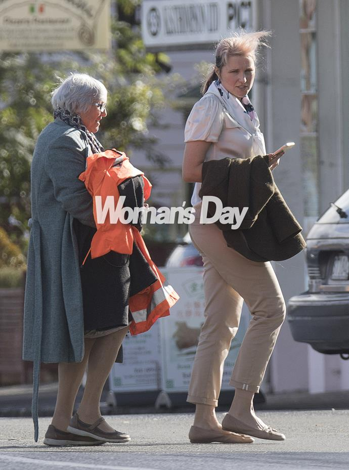 Kiwi actress Lucy Lawless was spotted out and about in Auckland recently, treating mum Julie Ryan to a special birthday lunch.