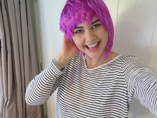 Cancer survivor Jess Quinn is also coming on board for Wig Wednesday.