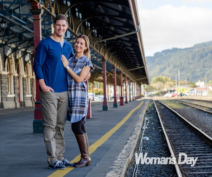 On paper, *The Block NZ: Girls vs Boys* contestant Courtney MacKay and her rugby-pro fiancé Joe Wheeler would make the perfect team for a home-renovation show.