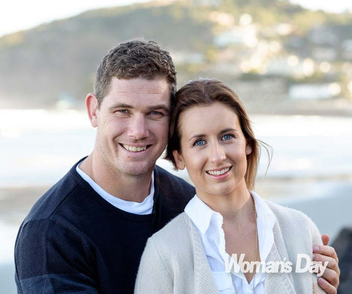 The 2m-tall jock surprised his lady love by whisking her away to Kaiteriteri, near Nelson, the first place they ever went on holiday together.