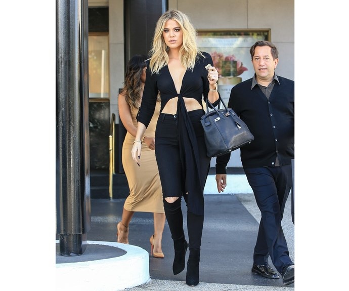 Earlier this month, on June 13th, 2016, Khloe stepped out looking noticeably thinner with beachy-blonde locks.