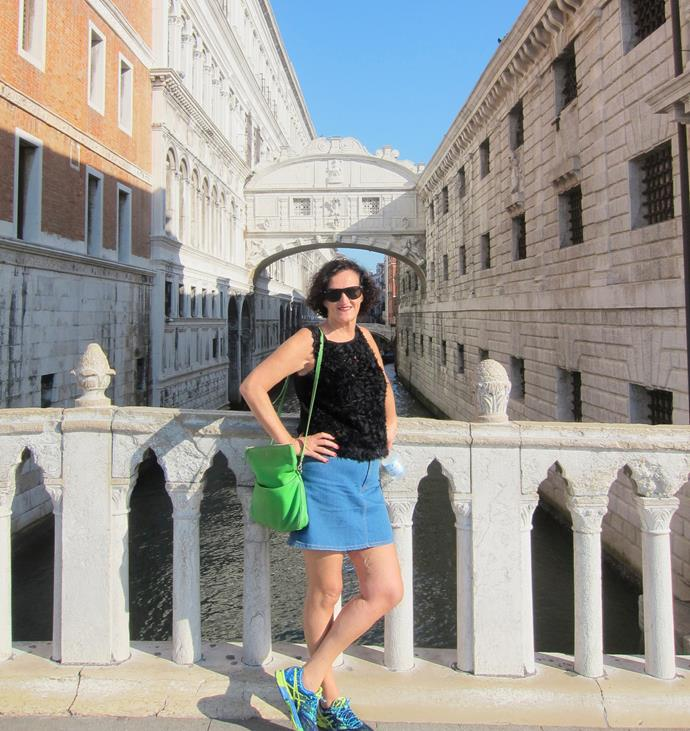 The Bridge of Sighs once led to a jail but now is a must-stop photo op.