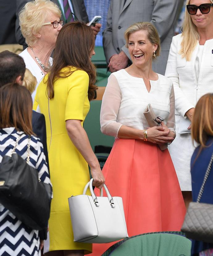 The Duchess and the Countess had a marvellous day out together.