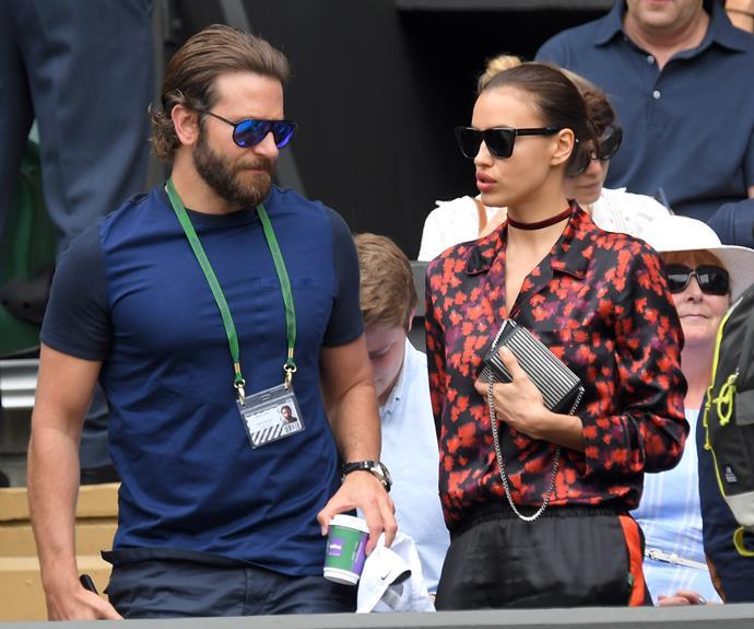 Bradley Cooper and his model girlfriend Irina Shayk were regular attendees at this year's Wimbledon event.