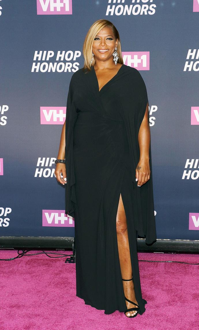 Queen Latifah turns up the glamour at the VHI Hip Hop Honors: All Hail the Queens event.