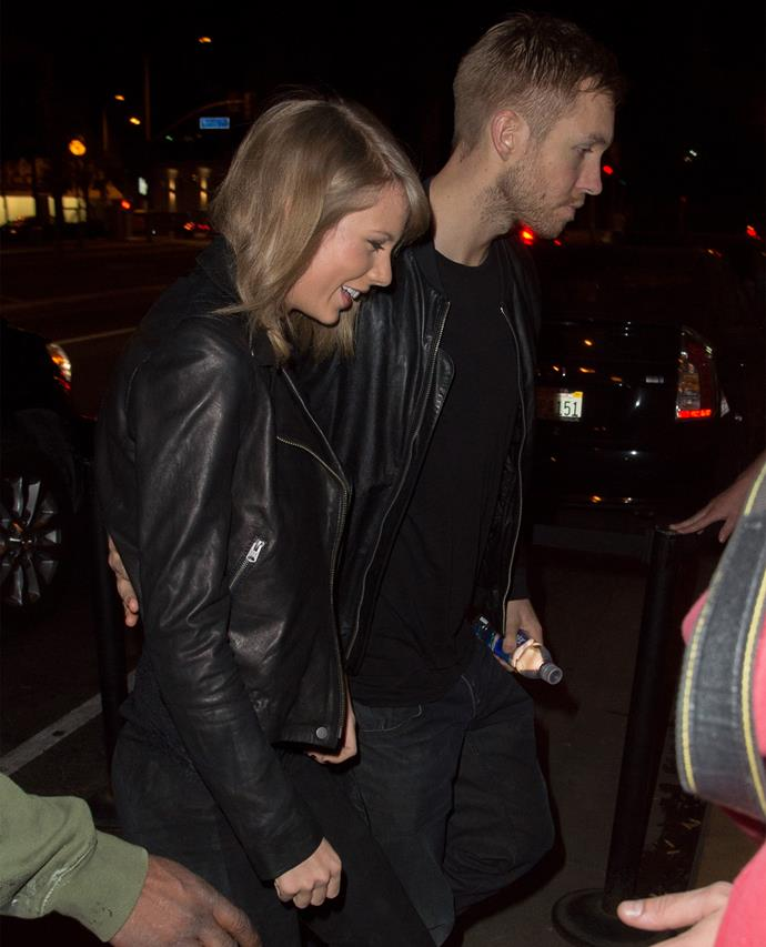 Taylor Swift was pictured with new beau Tom Hiddleston two weeks after breaking up with Calvin. Photo: Getty