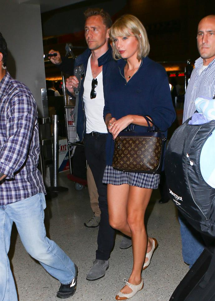 Taylor and Tom have been taking their romance around the world over the past few weeks, most recently touching down in Australia. Photo: Getty