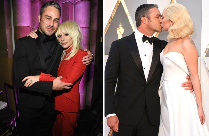 The couple were often spotted on red carpets together, and weren't shy about sharing their love for each other. Photo: Getty