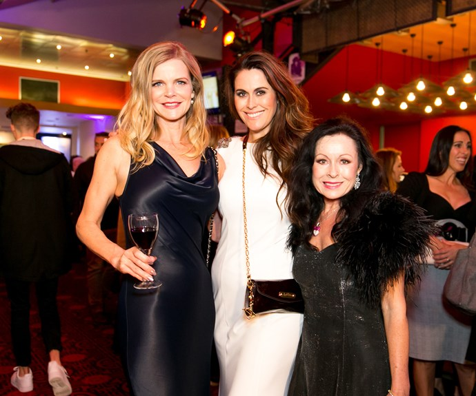 Julia Sloane, Angela Stone and Anne Batley Burton. Photo by Carmen Bird