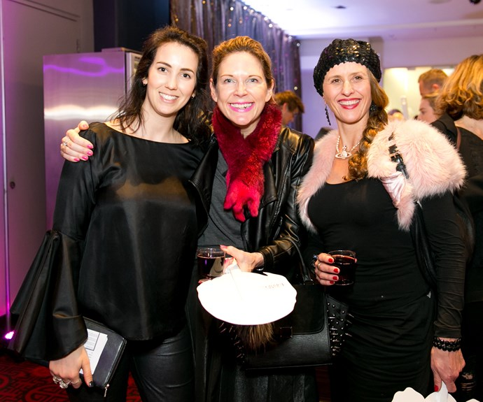 Eleisha Balmer, Kate Carter, Angela Smith. Photo by Carmen Bird