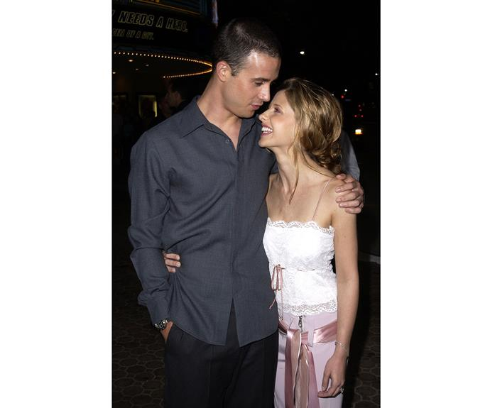 **Since 2002: Sarah Michelle Gellar and Freddie Prinze Jr.** This marriage makes the list because these two have stayed together ever since they met on the set of * I Know What You Did Last Summer*. Did we mention these two played the classic couple Fred and Daphne in the 2002 movie *Scooby-Doo* when they were only newlyweds? Too cute.  Sarah Michelle talks about her adorable marriage on the video on the next slide.