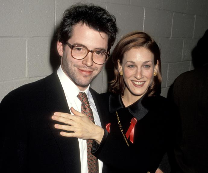 **Since 1997: Sarah Jessica Parker and Matthew Broderick** The characters these two have played are so iconic that we can't help thinking that Carrie Bradshaw would have hit it off with Ferris Bueller. The stars started dating in 1991, and met as stage actors on the set of *Sylvia*.  SJP had dated  Robert Downey, Jr. and John F. Kennedy Jr. before meeting Matthew, so the bar was high!