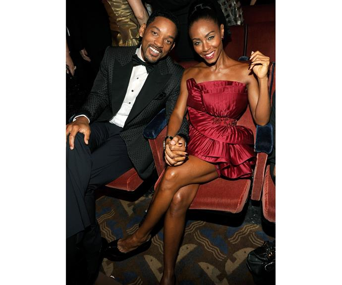 **Since 1997: Will Smith and Jada Pinkett Smith**  Now the parents of Trey, Willow, and Jaden Smith, this cute couple met when Jada auditioned to play Will's girlfriend in *The Fresh Prince of Bel-Air*, didn't get the part, snagging the role of his real-life girlfriend instead in 1994. The happy couple is still seen holding hands on the red carpet.