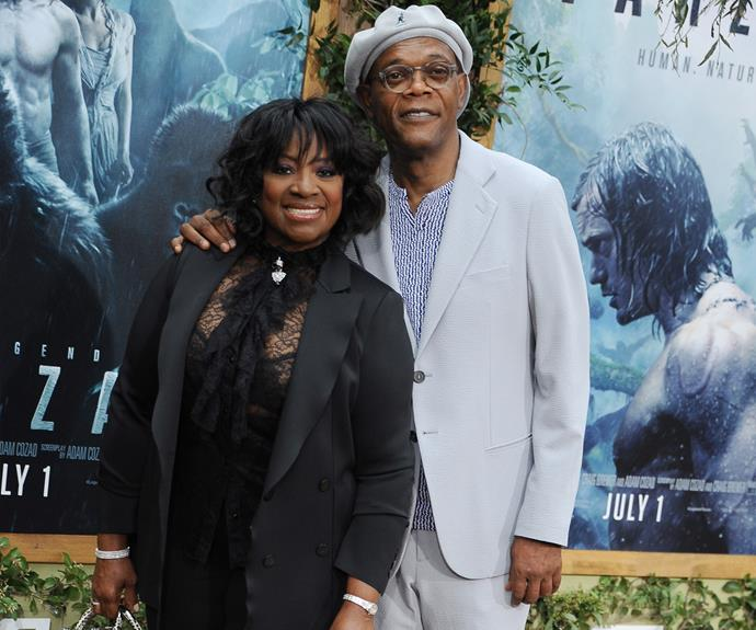 **Since 1980: Samuel L. Jackson and LaTanya Richardson**  With a prolific film career and plenty of box office hits under his belt, Samuel L. Jackson has lived a charmed professional life. Looking at his marriage to LaTanya, his personal life has been blessed too! LaTanya is an actress and sports channel producer who met Samuel at Morehouse College, where he majored in architecture.