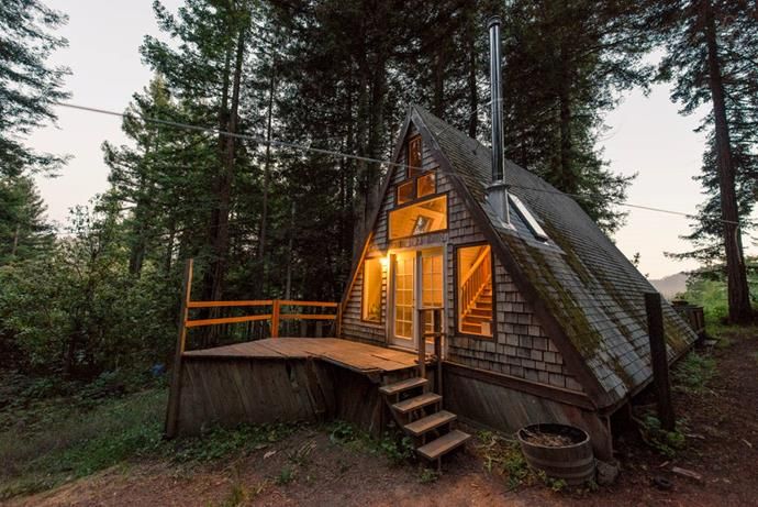 """[**2. Cabin in the Redwoods**](https://www.airbnb.com/rooms/2437969