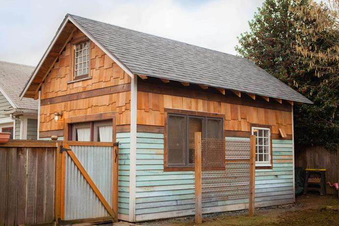 **The modern tiny house in Portland**