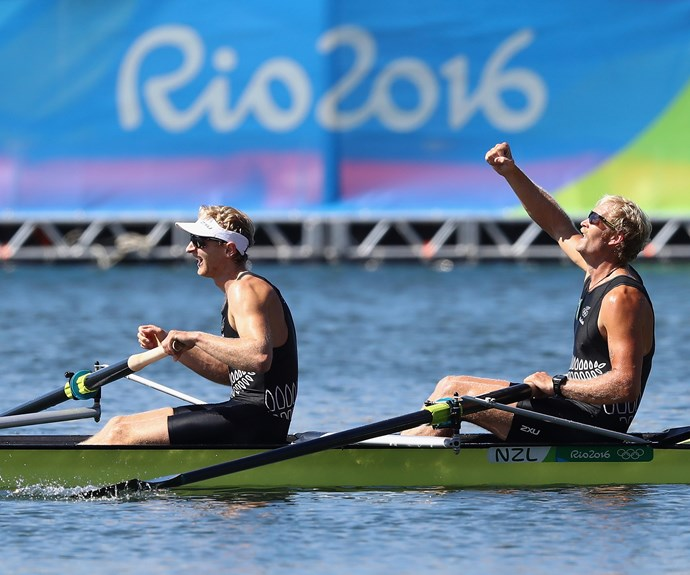 The golden pair have now clinched their second consecutive gold medal for New Zealand.
