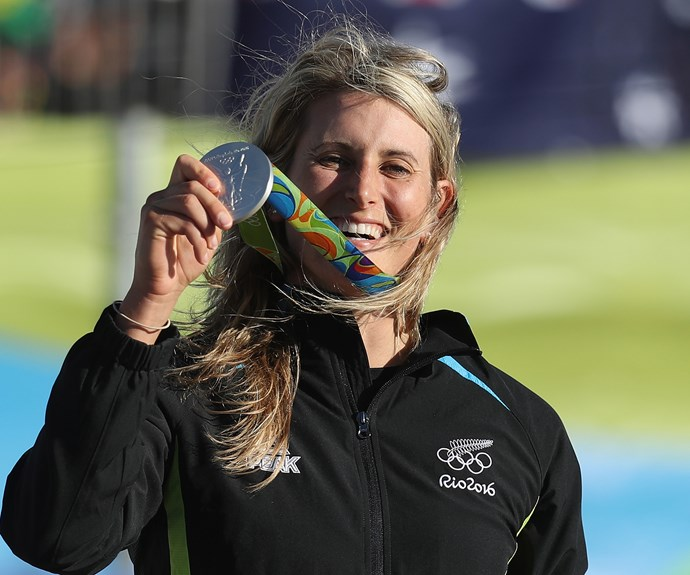 Luuka Jones won the silver in the women's canoe slalom event, posting an amazing time of 101.82 seconds.