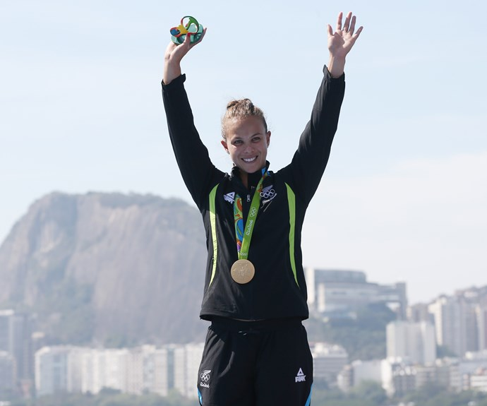 Lisa Carrington is now a double Olympic champion after her big win in the K1 200m canoe sprint this morning!