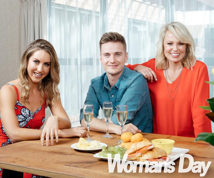 """""""She's so domesticated,"""" grins her flatmate Steve Broad, who competed on last year's *The X Factor NZ*.  Laughing, their housemate Carolyn Taylor, a *Celebrity Treasure Island* survivor, adds, """"She'll make someone a perfect wife someday!"""""""