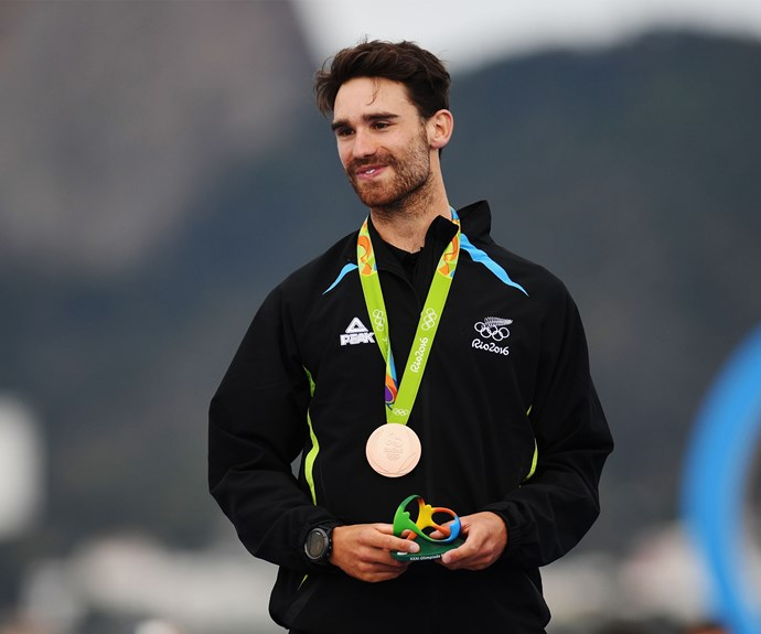"""""""I was aiming to have a shot at getting a medal and to finish it off was absolutely amazing,"""" Sam told *Stuff*."""