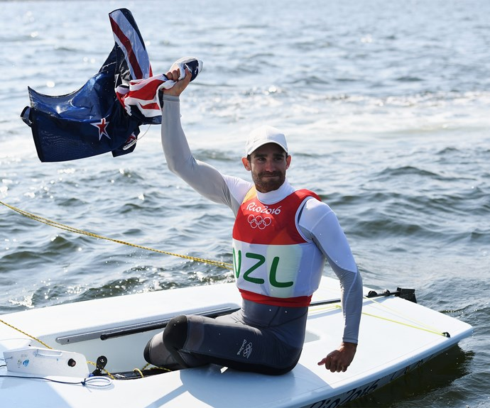 Kiwi sailor Sam Meech also added to New Zealand's medal haul today with a bronze for his efforts in the Laser class at Rio.