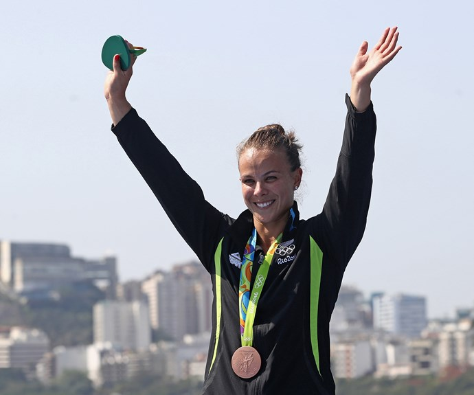 Lisa Carrington - who won gold in the K1 200m earlier in the week - claimed her second medal at the Games with a bronze in the K1 500m race.