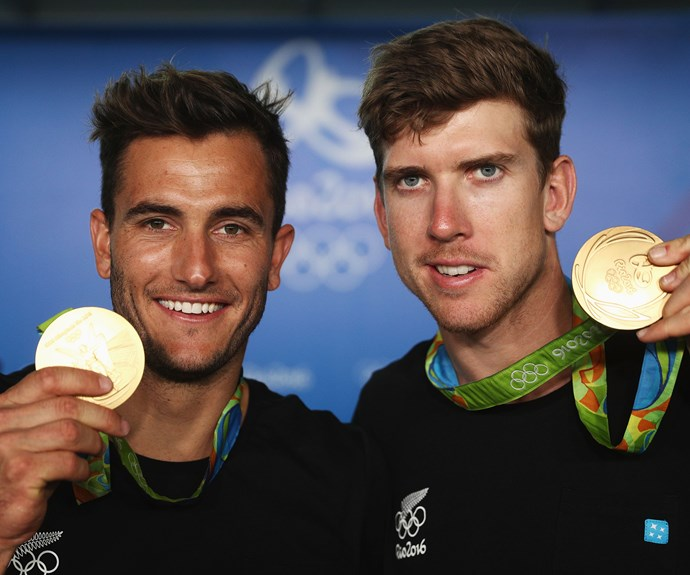 Sailing duo (and New Zealand's flag bearers at the opening ceremony) Blair Tuke and Peter Burling officially won gold overnight for their efforts in the men's 49er class.