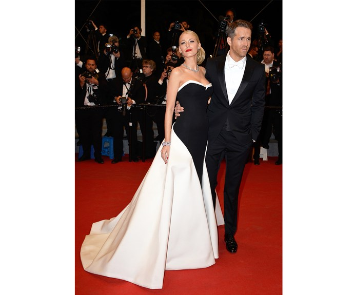 And again at Cannes in 2014, the couple proved they were red carpet stars.