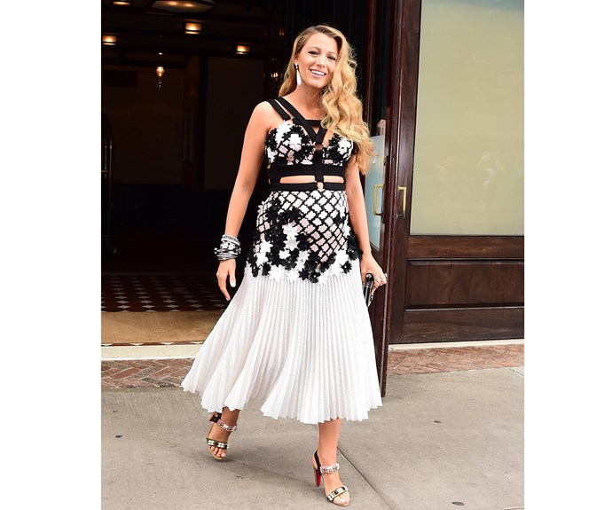 In April 2016, she and Ryan announced their second pregnancy - and of course, Blake's maternity style is just as flawless as her everyday style!