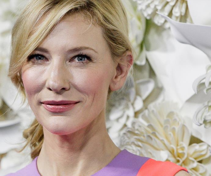 Cate Blanchett says Judi Dench gave her a great tip for younger looking hands. According to the actress, she waves her hands about in the air before stepping onto the red carpet, draining the blood away from her hands to get them looking as good as possible for photographs. **Watch Cate talking about the 'unglamorous' side to the Golden Globes in the next video**