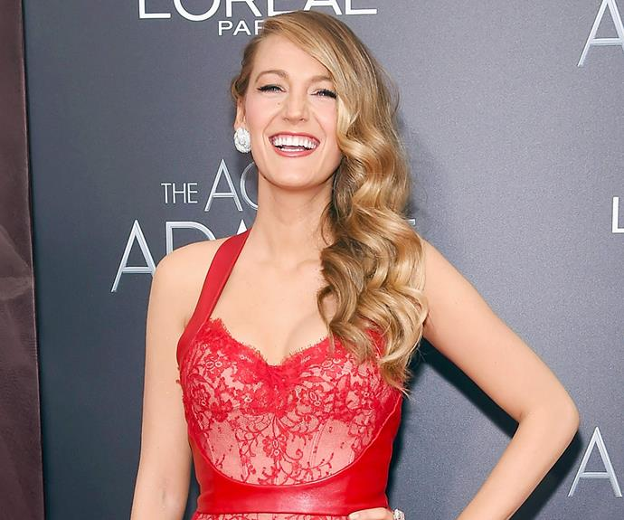 """Blake Lively has her mother's hair, apparently in more ways than one! The actress' flowing mane is apparently down to a trick passed down from her talent scout mum - """"My mom taught me this really great beauty tip. She used to put oil or mayonnaise on the bottom half of her hair before she would shower. That way, when she would shampoo, the soap wouldn't strip the bottom of the hair and dry it out, making it brittle,"""" she said."""
