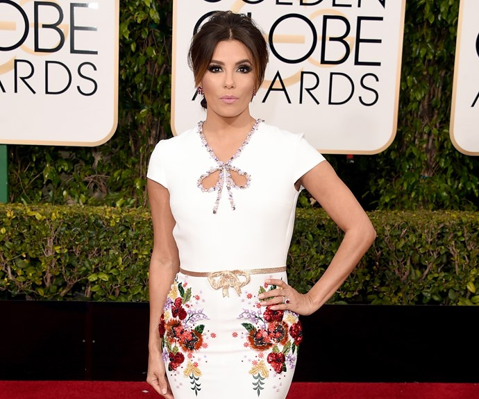 Eva Longoria and Katie Holmes use face creams containing placenta. January Jones claims the strange by-product helped her bounce back from pregnancy. It's claimed that placenta boosts collagen production and moisture levels, yet experts say there is no proof of this and the jury is still out as to whether it actually works.