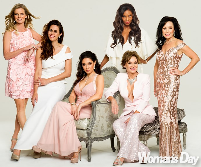 "It's excess at every turn for these glamour ladies. ""Some have exposed their true selves from the start,"" tells fashionista Angela."