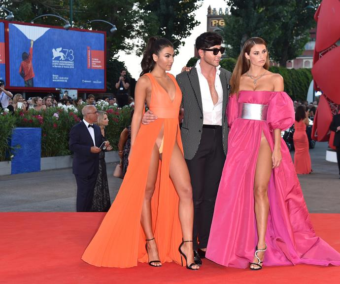 However, not everyone made it on the best dressed list! Models Giulia Salemi and Dayane Mello turned heads for all the wrong reasons as they debuted two daring gowns with extreme slashed-to-the-waist skirts.