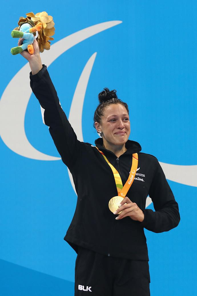 In total, Sophie has won an incredible 15 Paralympic medals.