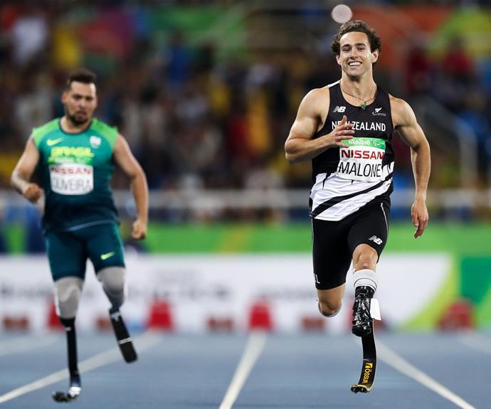 Liam also won the gold in the men's 200m T44 final, breaking the previous Paralympic Games record set by Oscar Pistorius.