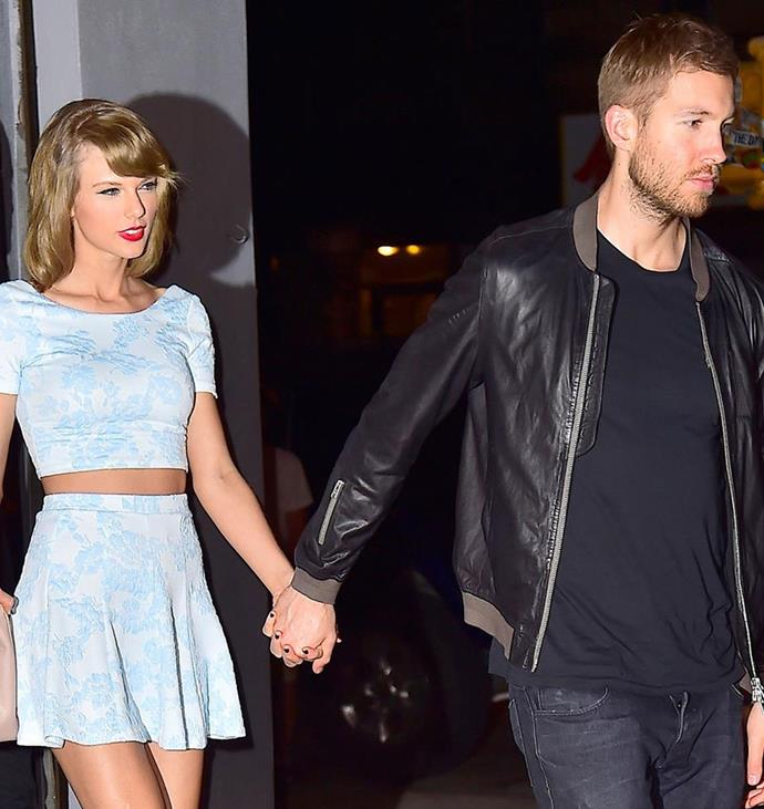 After 15 months, Taylor and Calvin called in quits in June last year