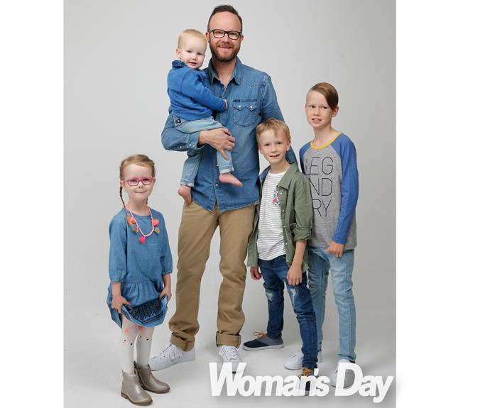 """Our work mantra has always been 'family comes first',"" says Flynny, who is dad to Jack, 11, Leo, nine, Michaela, five, and 20-month-old Alexander."