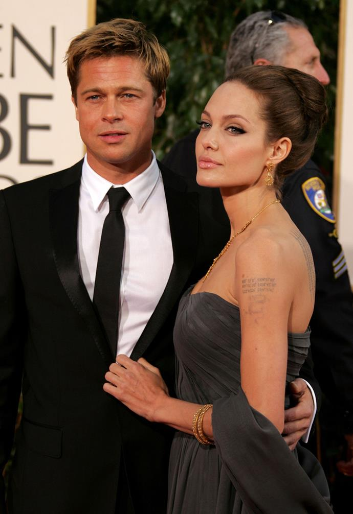 The couple attend the 2007 Golden Globes together.